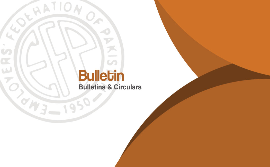 EFP Bulletin #1 On SEPA Case